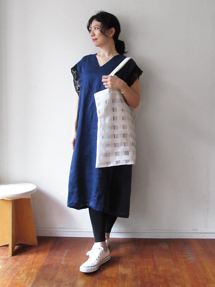 リネンサックドレス(2021 Summer Collection) 13