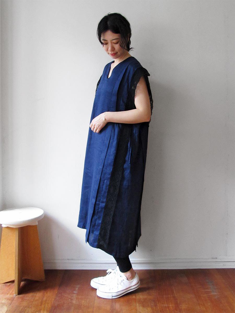 リネンサックドレス(2021 Summer Collection) 14
