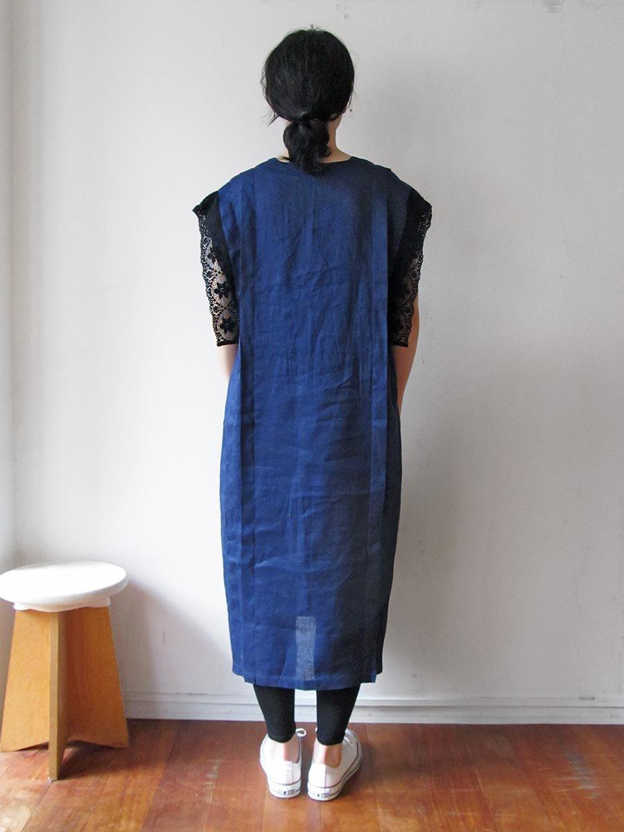 リネンサックドレス(2021 Summer Collection) 15