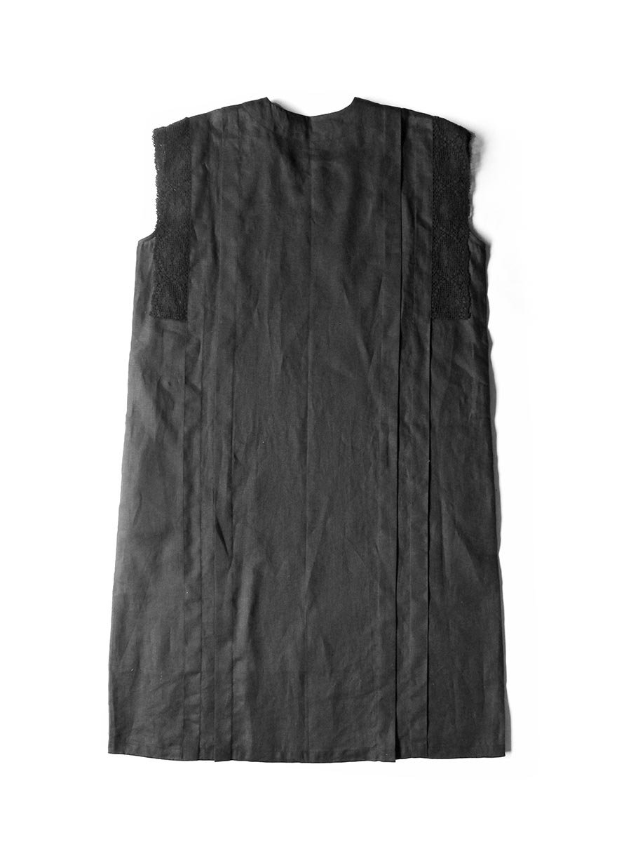 リネンサックドレス(2021 Summer Collection) 3