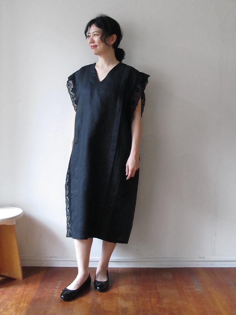 リネンサックドレス(2021 Summer Collection) 6