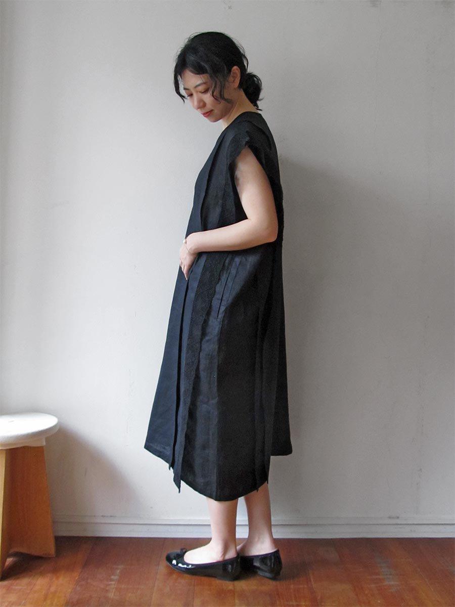 リネンサックドレス(2021 Summer Collection) 8