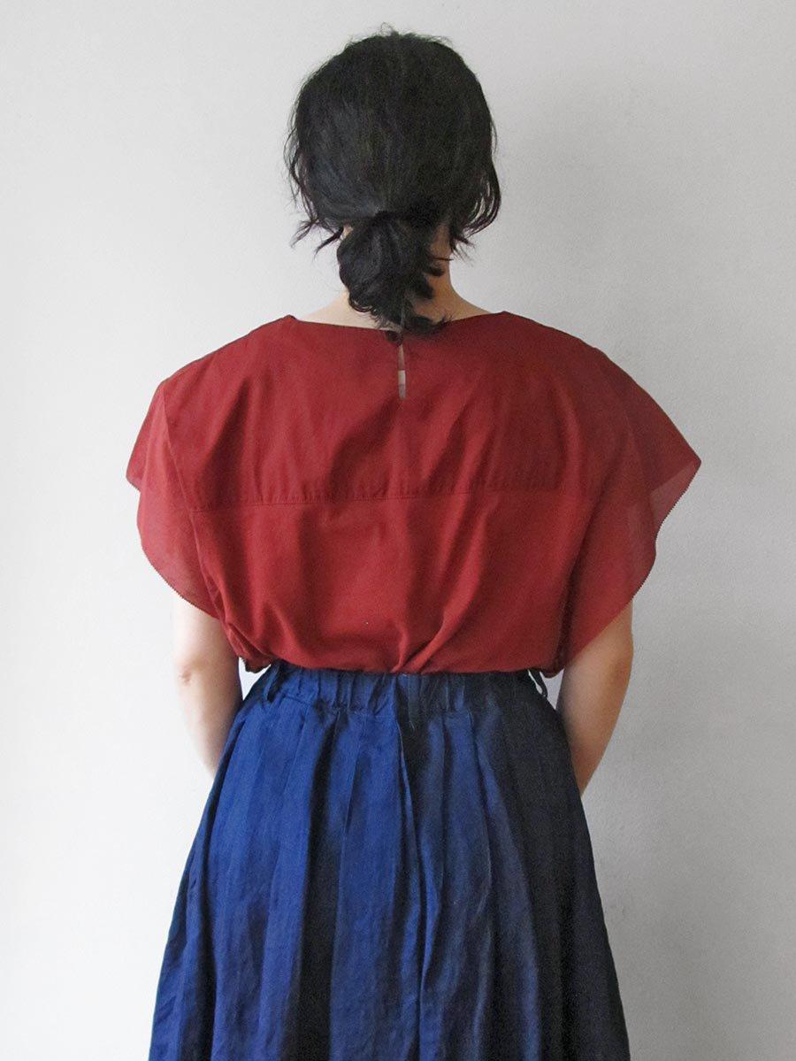 フリル袖ブラウス(2020 Summer Collection) 7