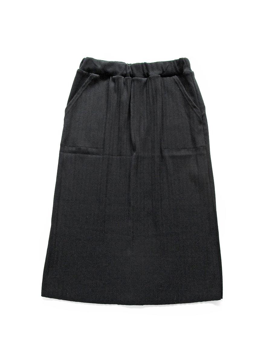 リブプリーツスカートセット ブラック(2020 Spring Collection) 2