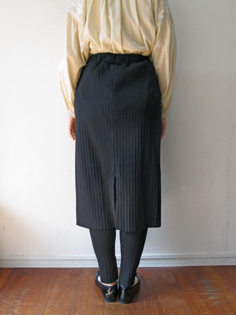 リブプリーツスカートセット ブラック(2020 Spring Collection) 14
