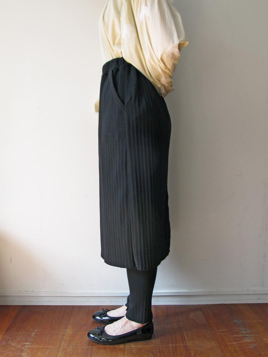 リブプリーツスカートセット ブラック(2020 Spring Collection) 15