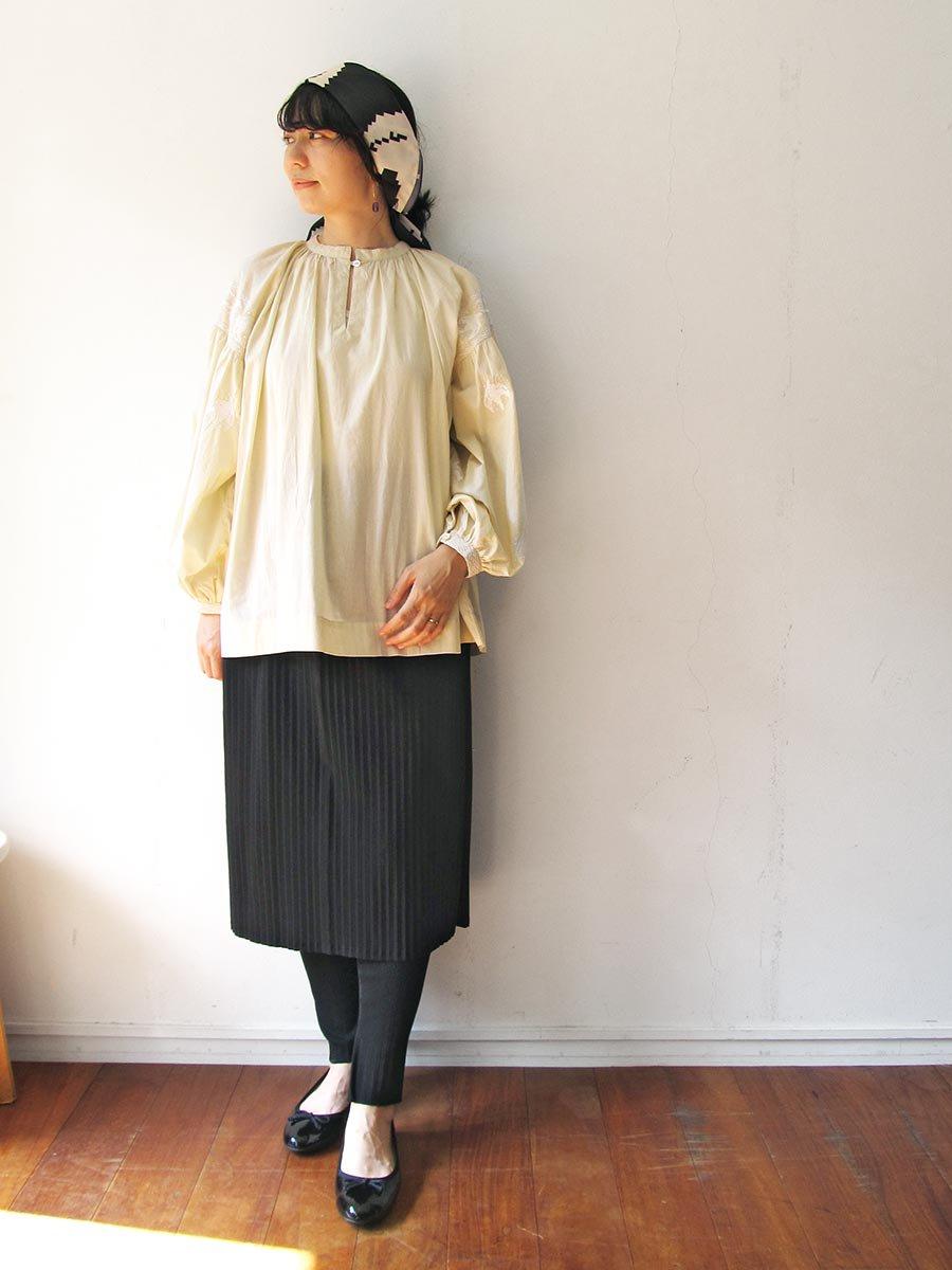 リブプリーツスカートセット ブラック(2020 Spring Collection) 16