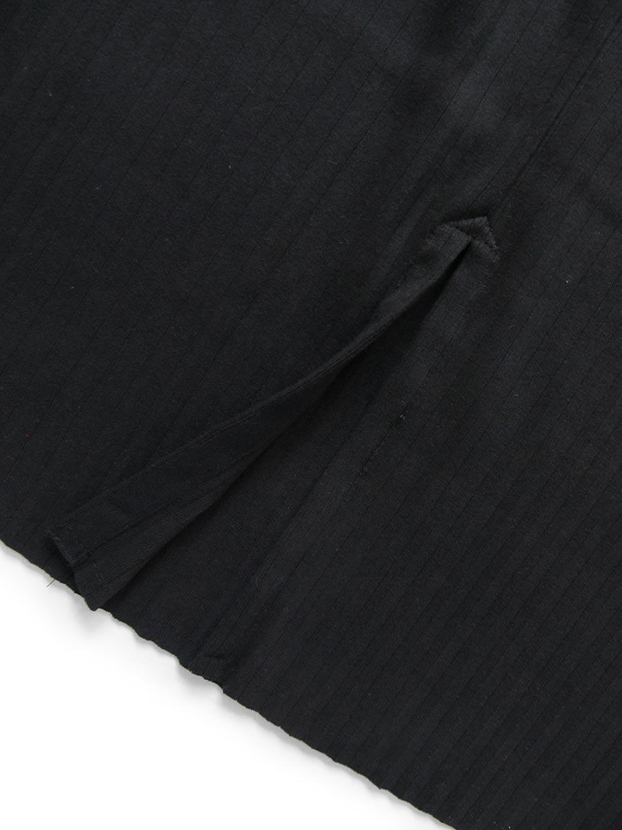 リブプリーツスカートセット ブラック(2020 Spring Collection) 9
