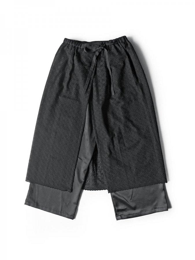 エプロンスカート&パンツ/ブラック(2020 Summer Collection) 2