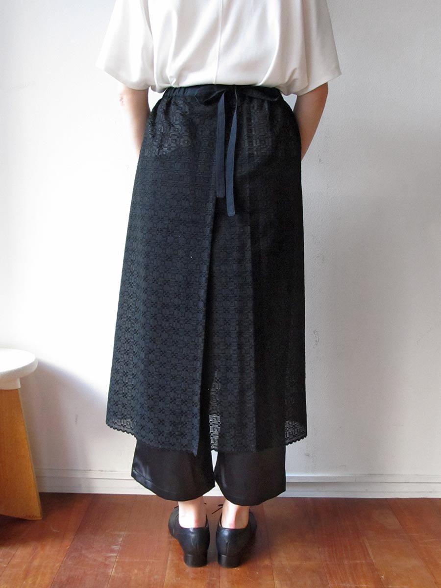 エプロンスカート&パンツ/ブラック(2020 Summer Collection) 11