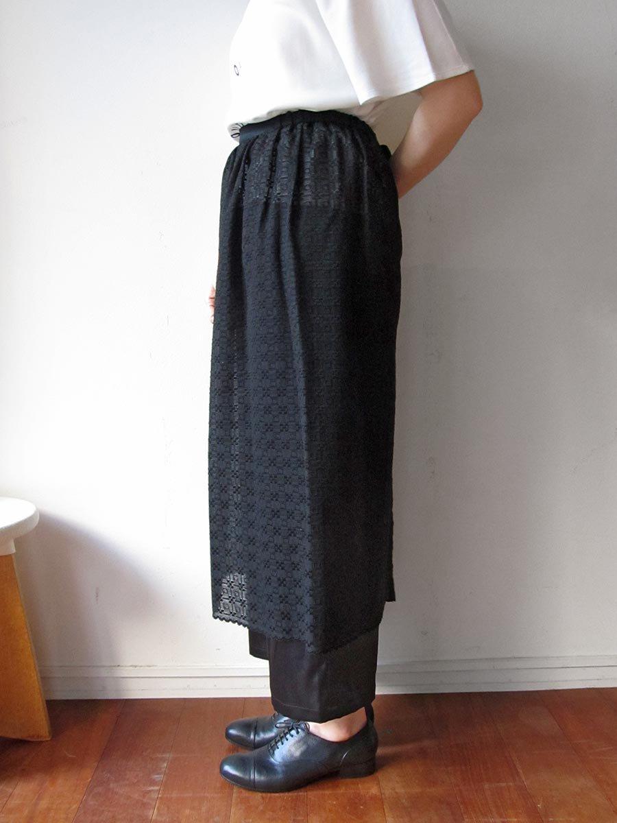エプロンスカート&パンツ/ブラック(2020 Summer Collection) 12