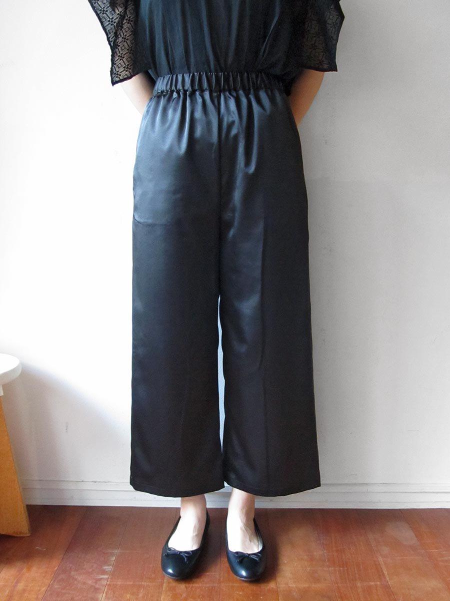 エプロンスカート&パンツ/ブラック(2020 Summer Collection) 13