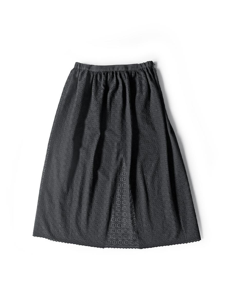 エプロンスカート&パンツ/ブラック(2020 Summer Collection) 3