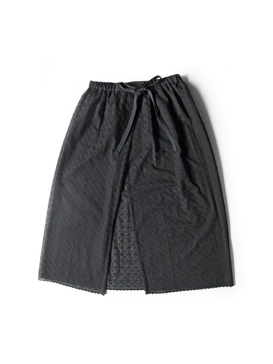 エプロンスカート&パンツ/ブラック(2020 Summer Collection) 4