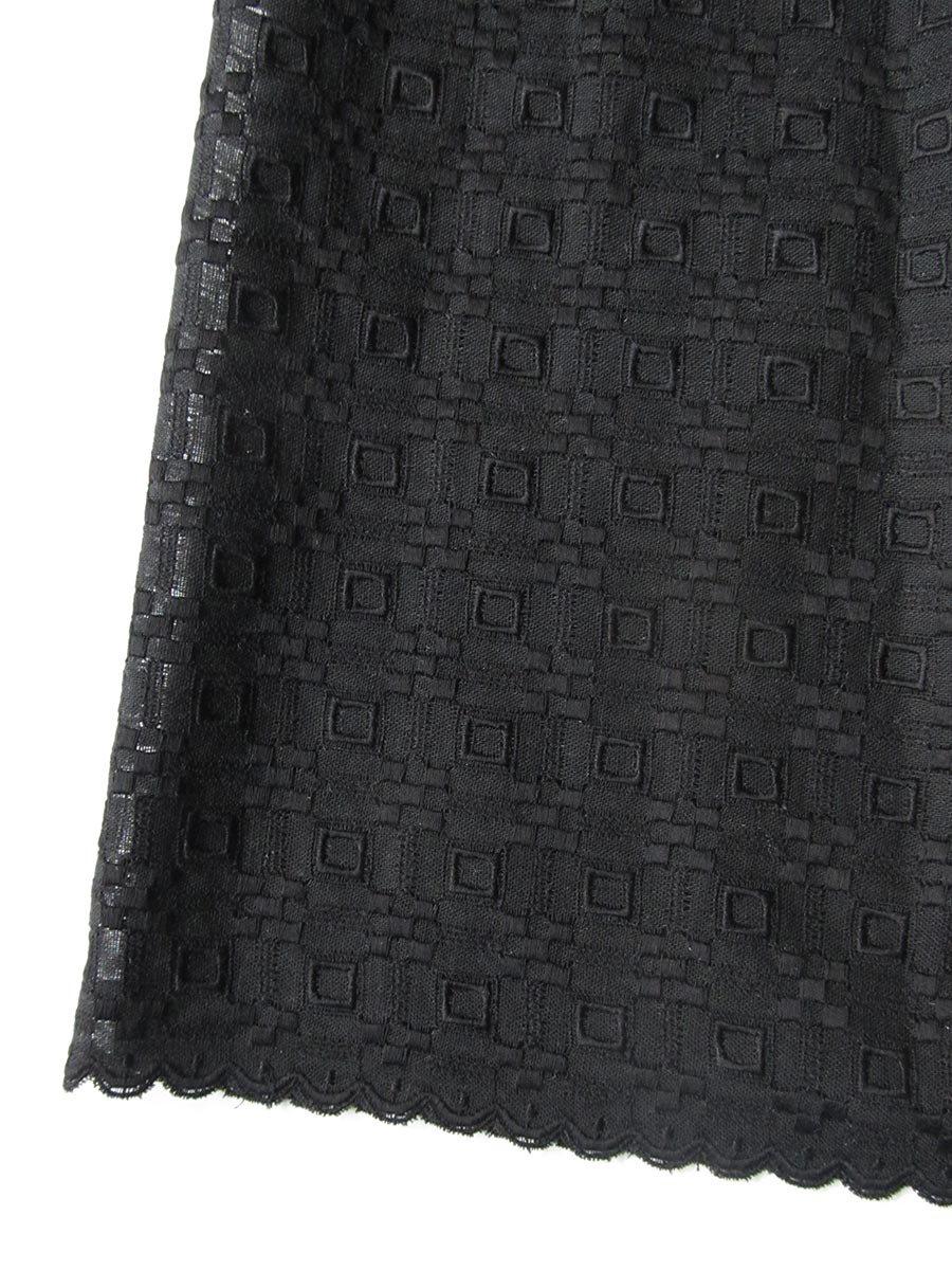 エプロンスカート&パンツ/ブラック(2020 Summer Collection) 5