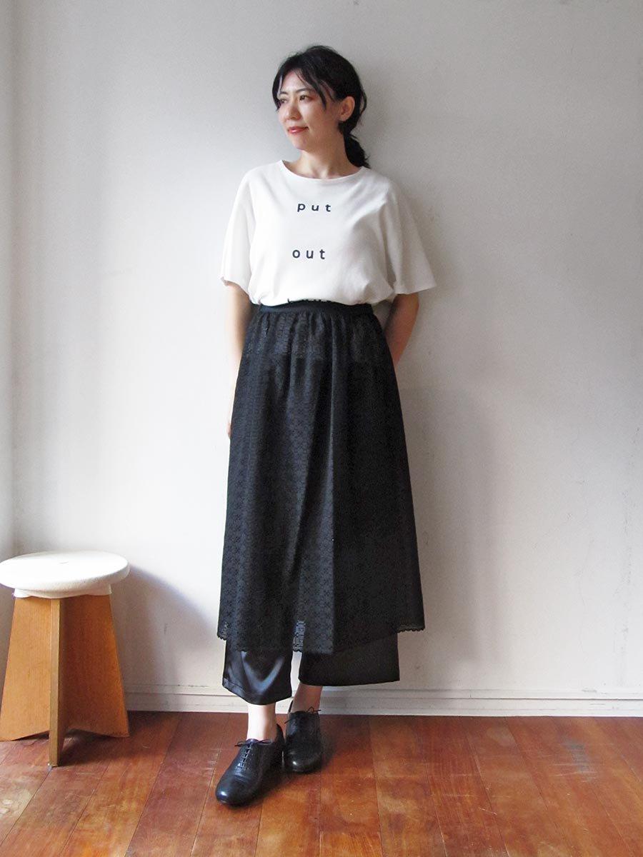 エプロンスカート&パンツ/ブラック(2020 Summer Collection) 9