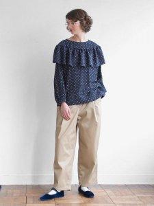 ワイドフリルブラウス(2020-21 Autumn Collection)