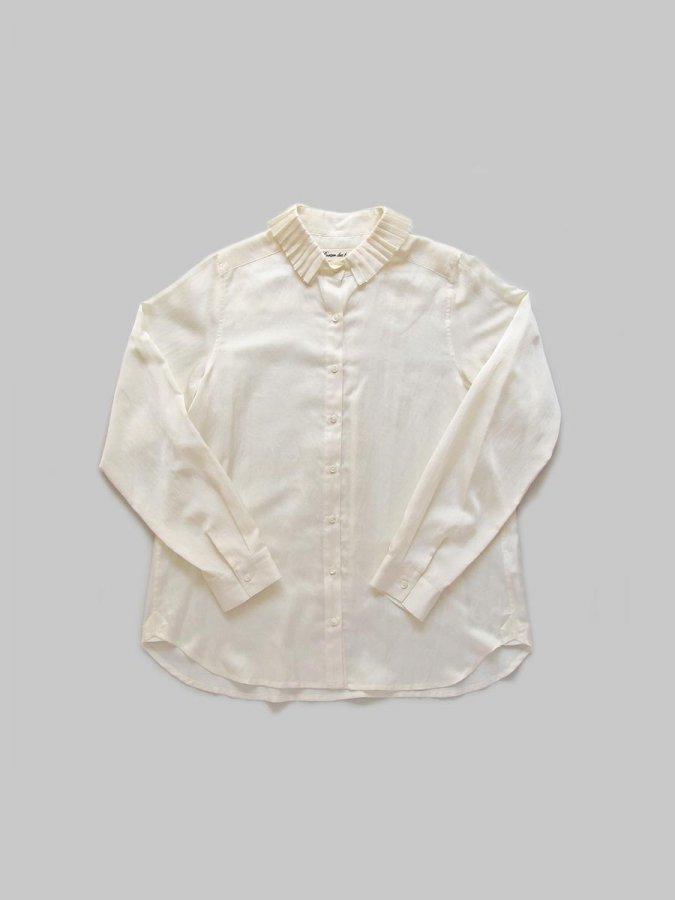 プリーツカラーシャツ(2020-21 Autumn Collection) 2