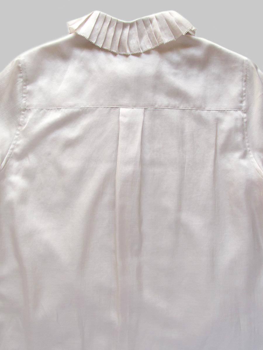プリーツカラーシャツ(2020-21 Autumn Collection) 11