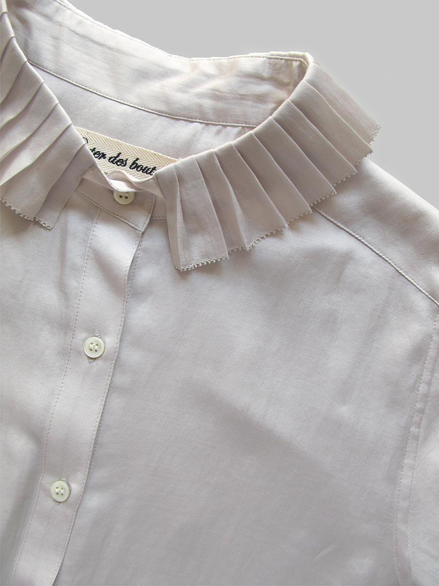 プリーツカラーシャツ(2020-21 Autumn Collection) 12
