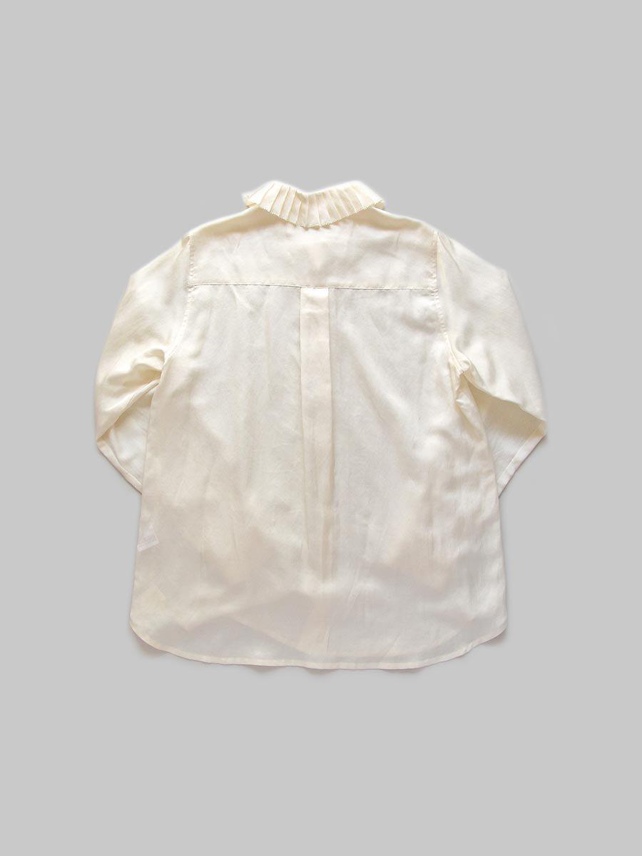プリーツカラーシャツ(2020-21 Autumn Collection) 3