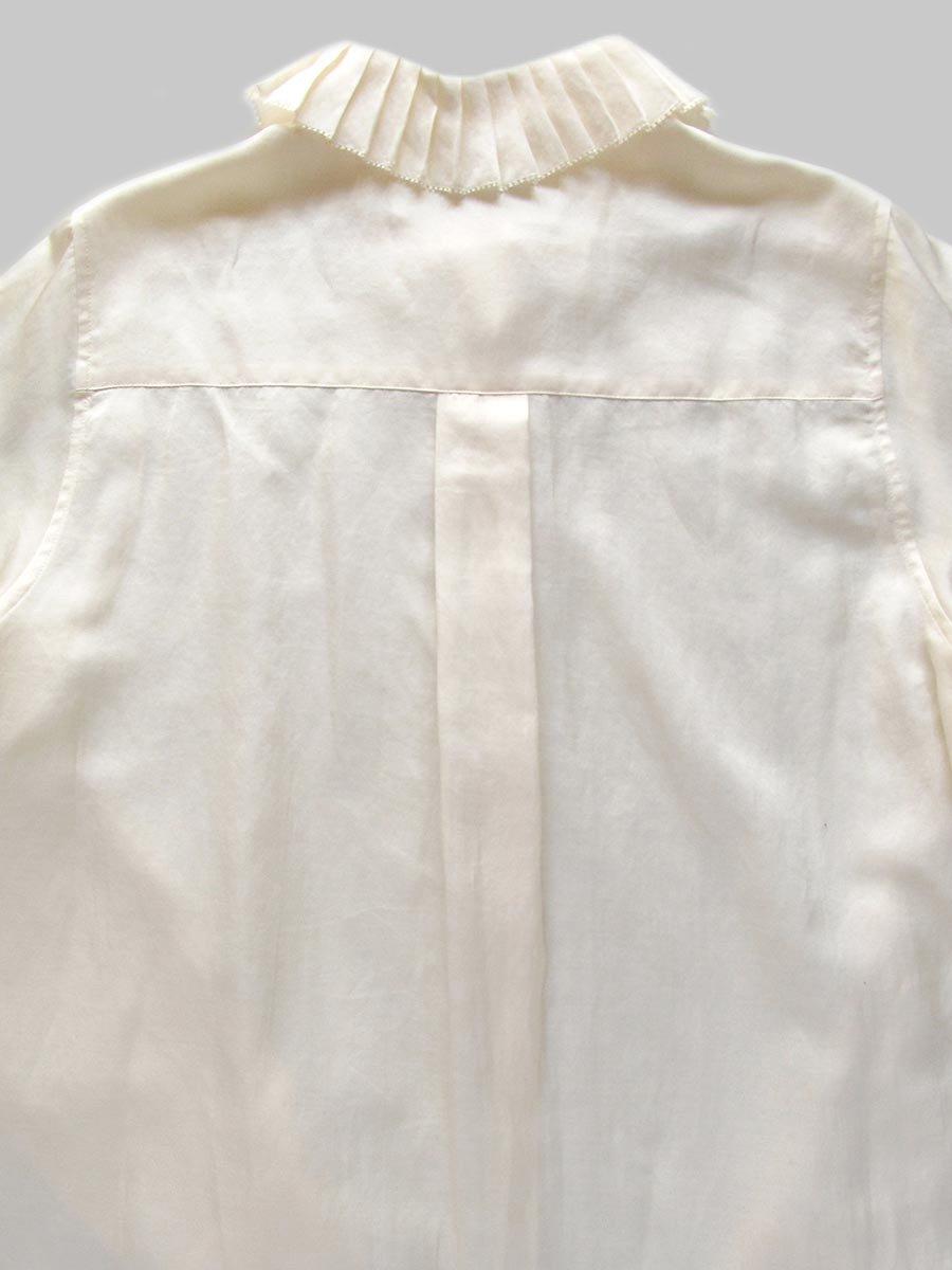 プリーツカラーシャツ(2020-21 Autumn Collection) 5