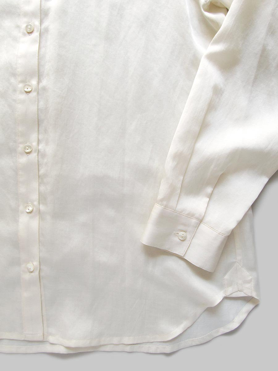 プリーツカラーシャツ(2020-21 Autumn Collection) 7
