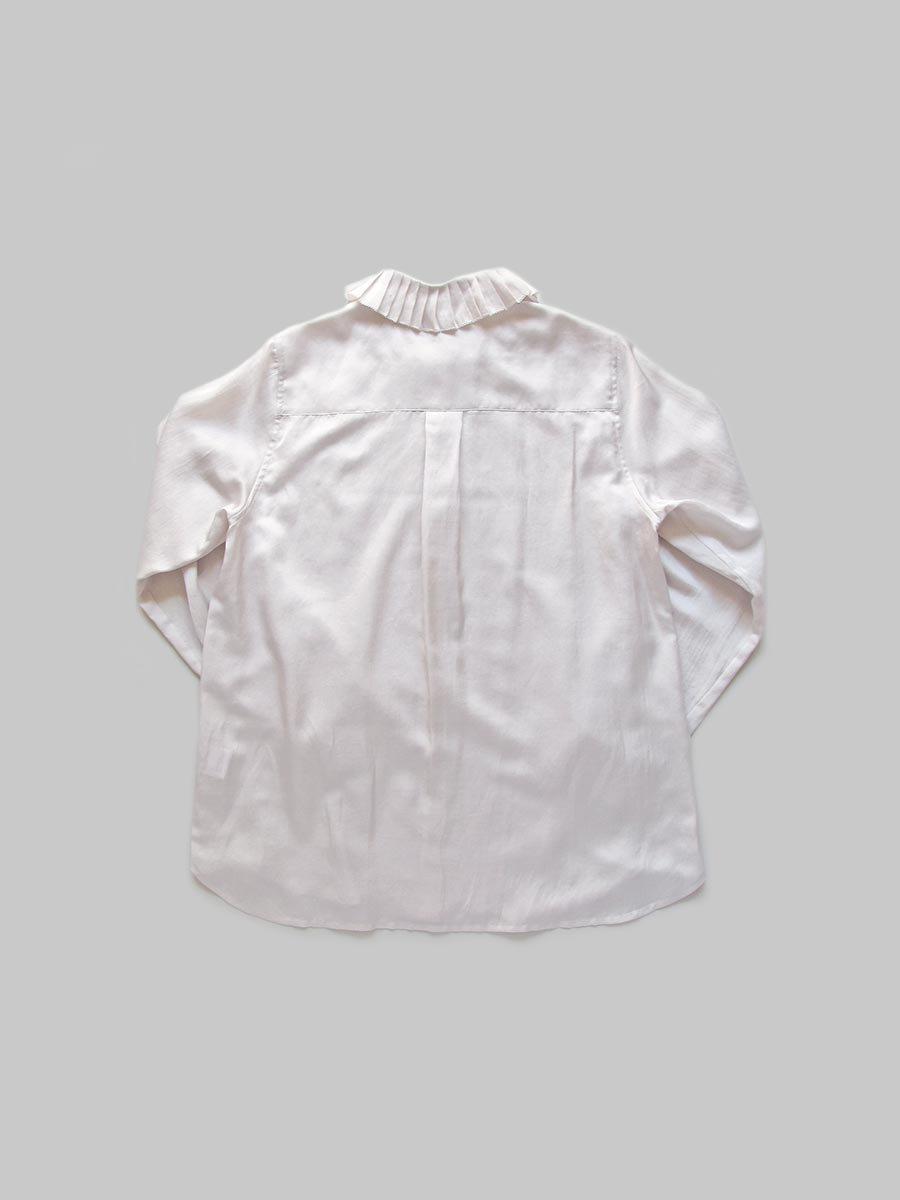 プリーツカラーシャツ(2020-21 Autumn Collection) 9