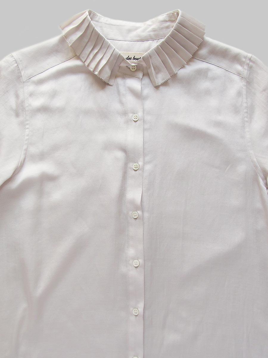プリーツカラーシャツ(2020-21 Autumn Collection) 10