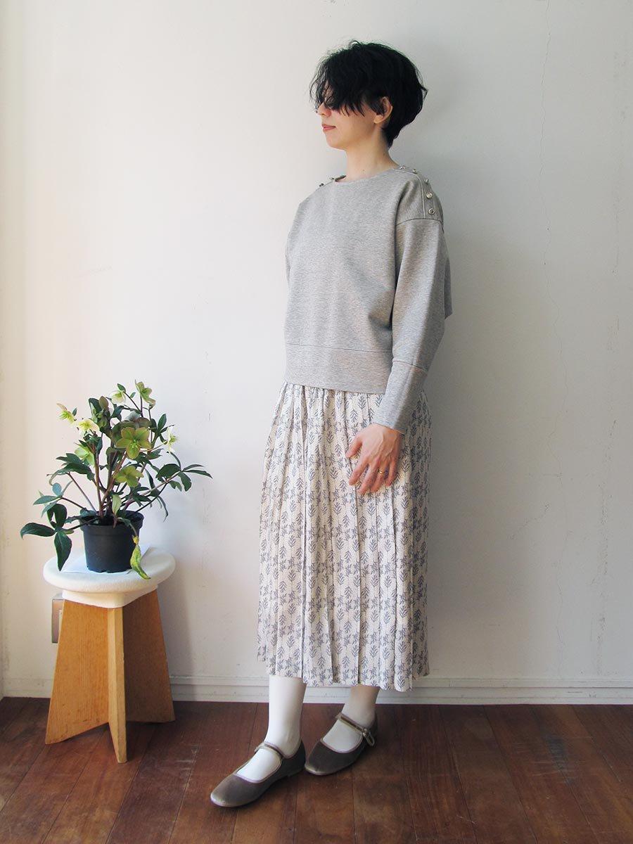 Bee Button裏毛プルオーバー(2020-21 Autumn Collection) 20