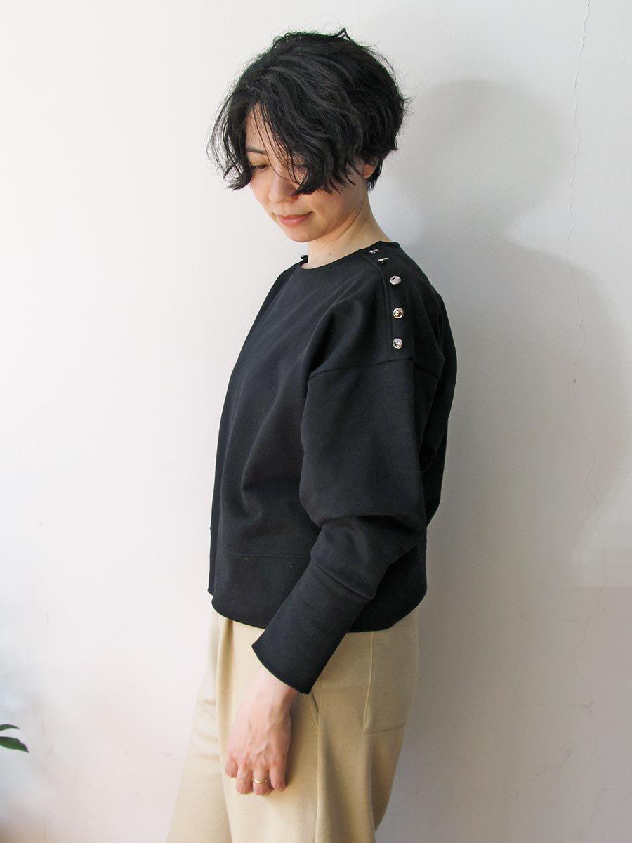 Bee Button裏毛プルオーバー(2020-21 Autumn Collection) 7