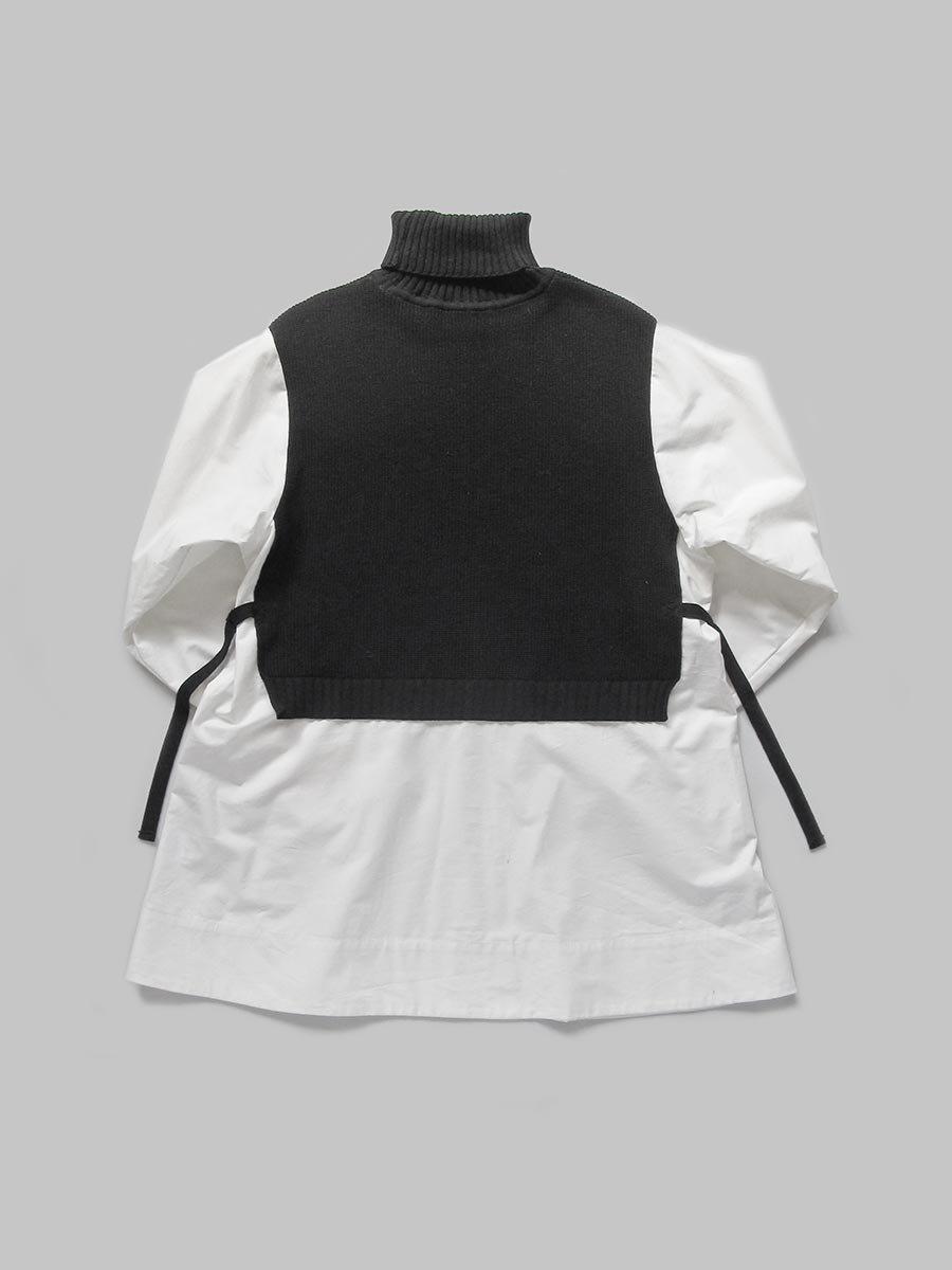 タートルネックニット×ロングシャツ(2020-21 Autumn Collection) 2