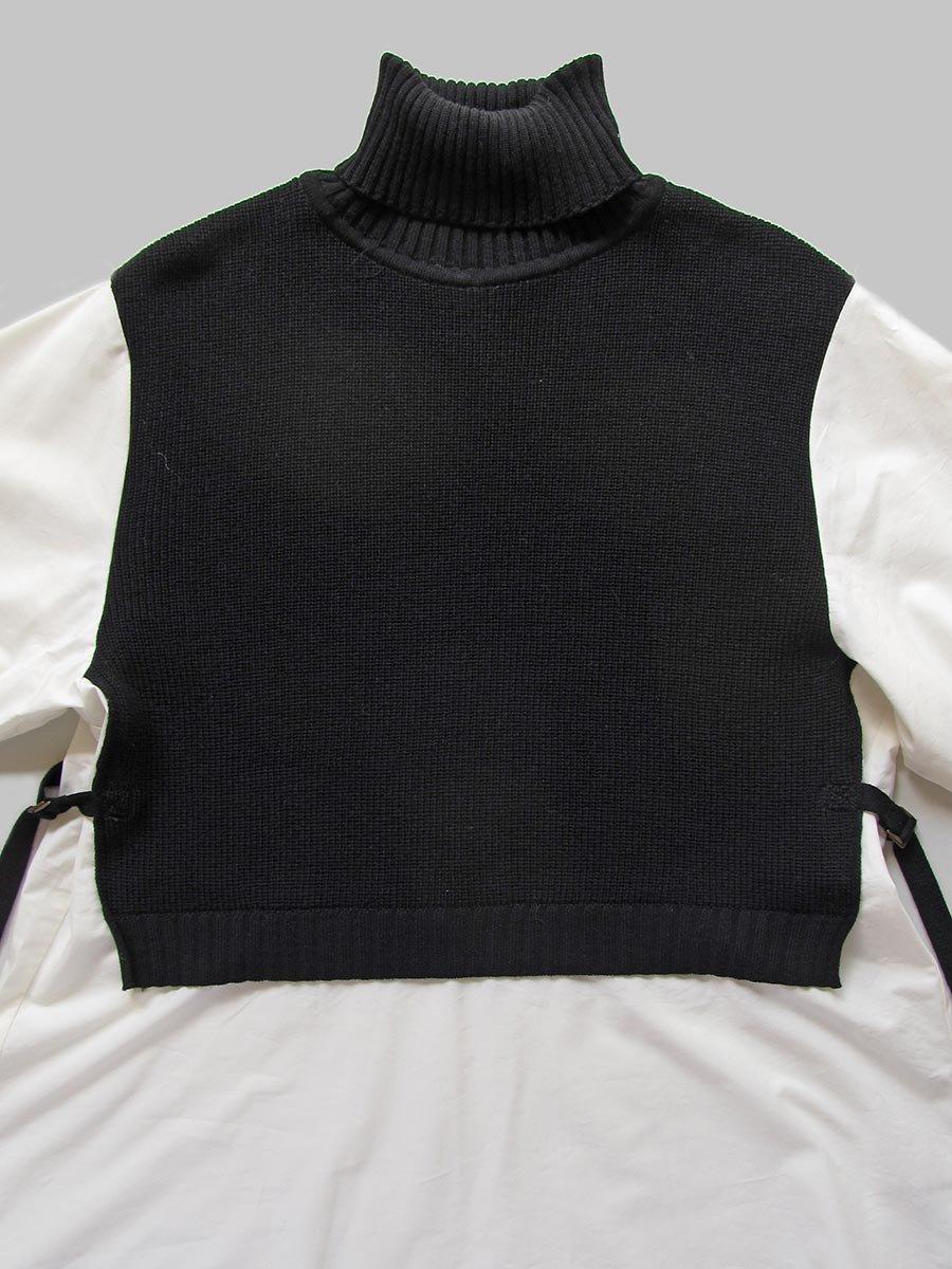 タートルネックニット×ロングシャツ(2020-21 Autumn Collection) 3