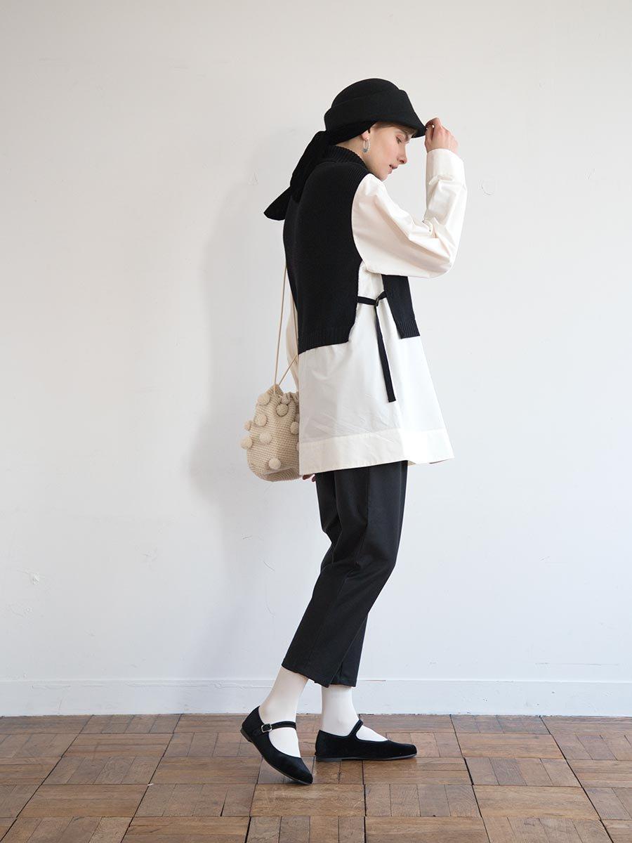 タートルネックニット×ロングシャツ(2020-21 Autumn Collection) 7