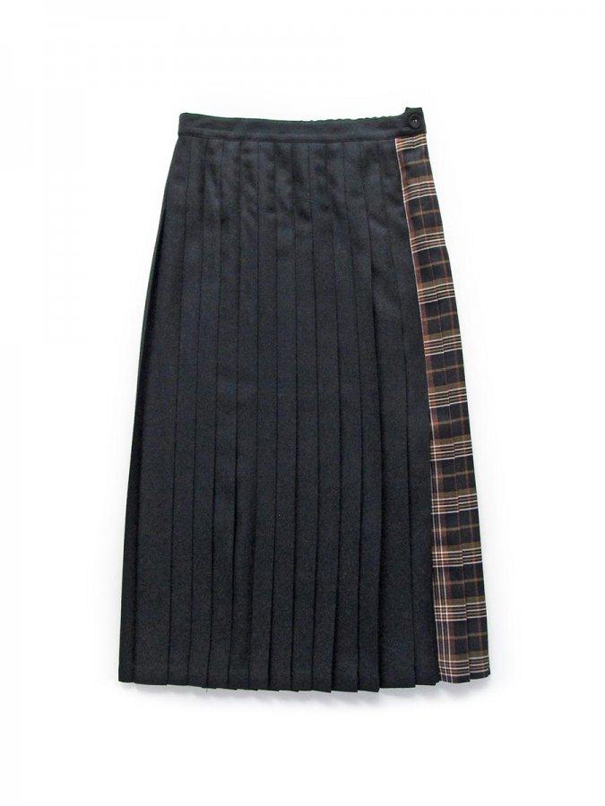 チェックプリーツスカート(2020-21 Autumn Collection) 1