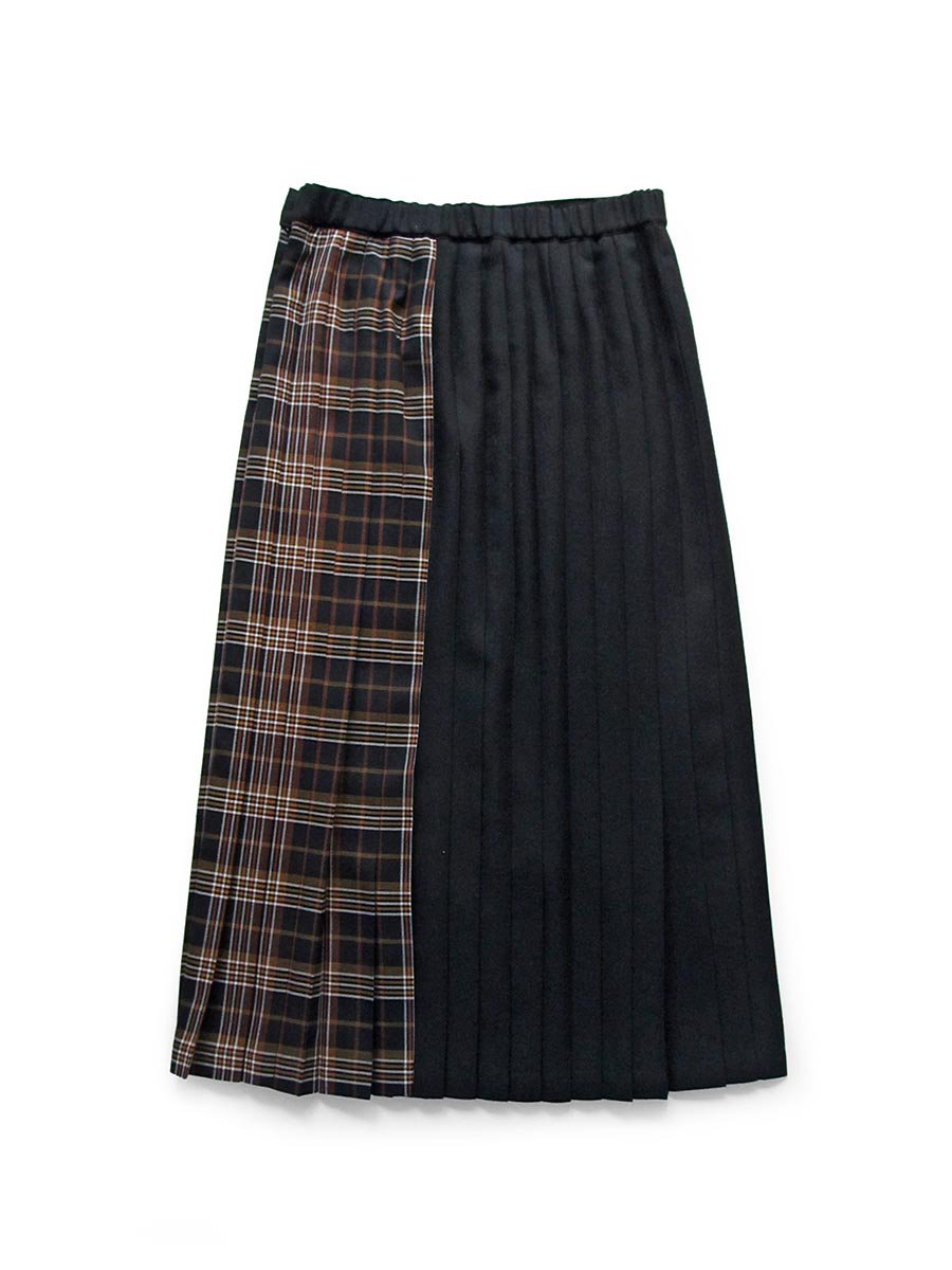 チェックプリーツスカート(2020-21 Autumn Collection) 2