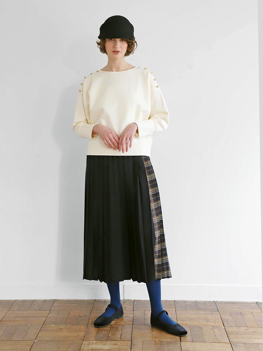 チェックプリーツスカート(2020-21 Autumn Collection) 8