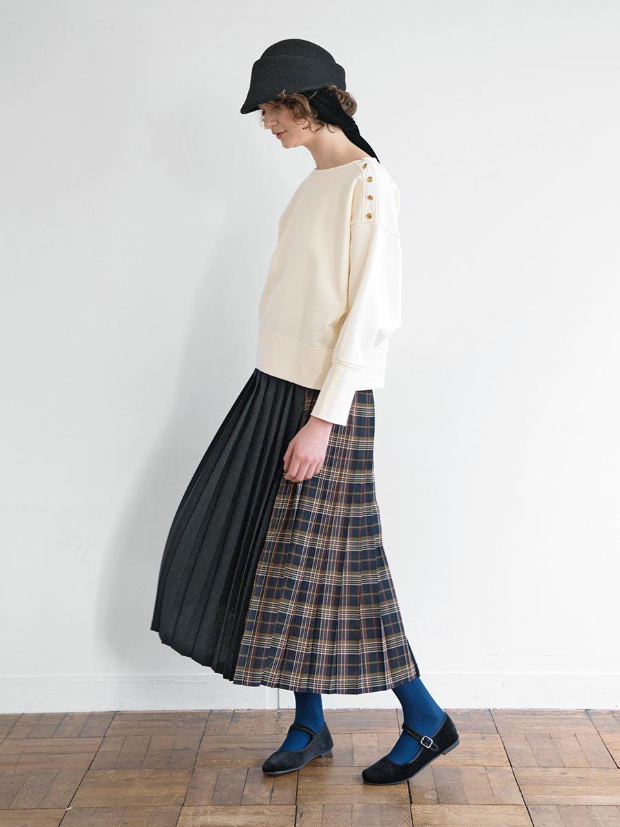 チェックプリーツスカート(2020-21 Autumn Collection) 9