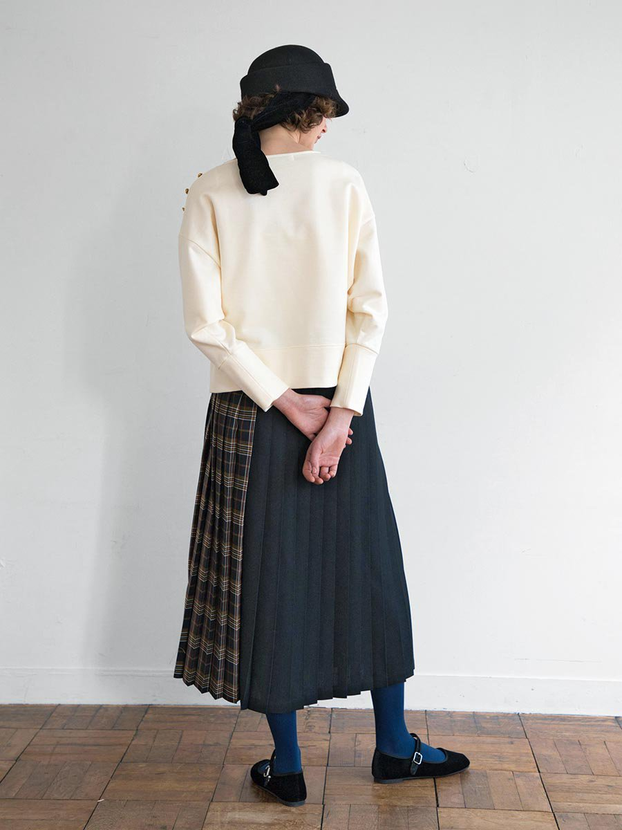 チェックプリーツスカート(2020-21 Autumn Collection) 10