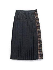 チェックプリーツスカート(2020-21 Autumn Collection)