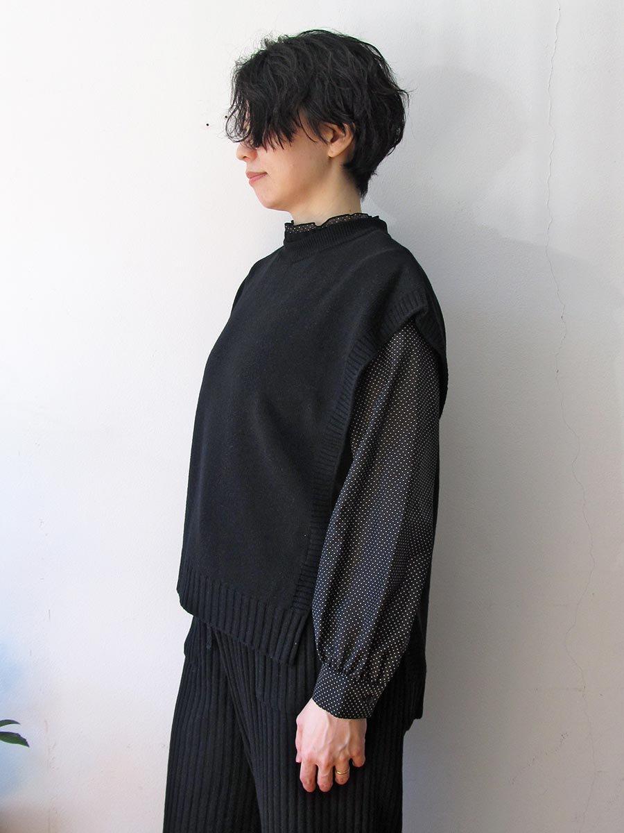 ニットベスト(2020-21 Autumn Collection) 5