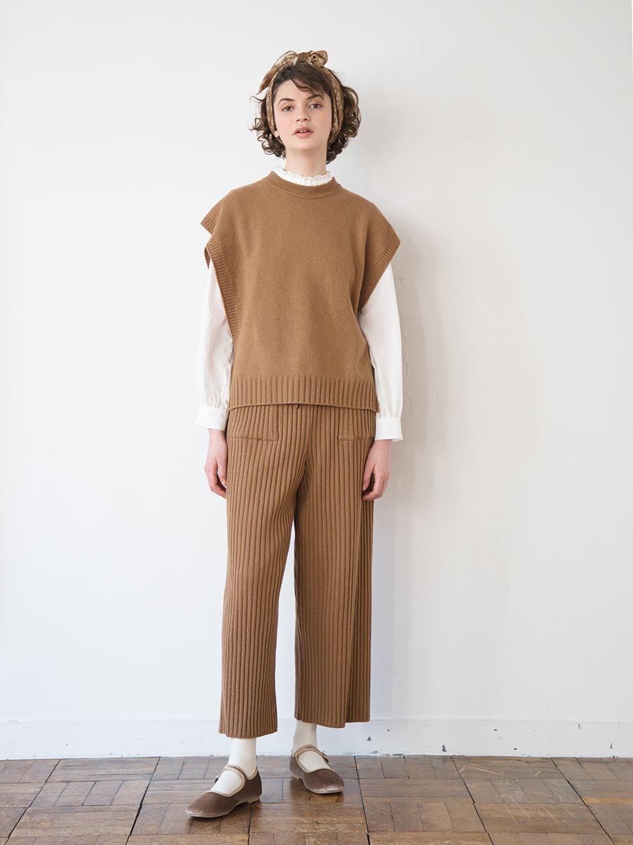 ニットリブパンツ(2020-21 Autumn Collection) 10