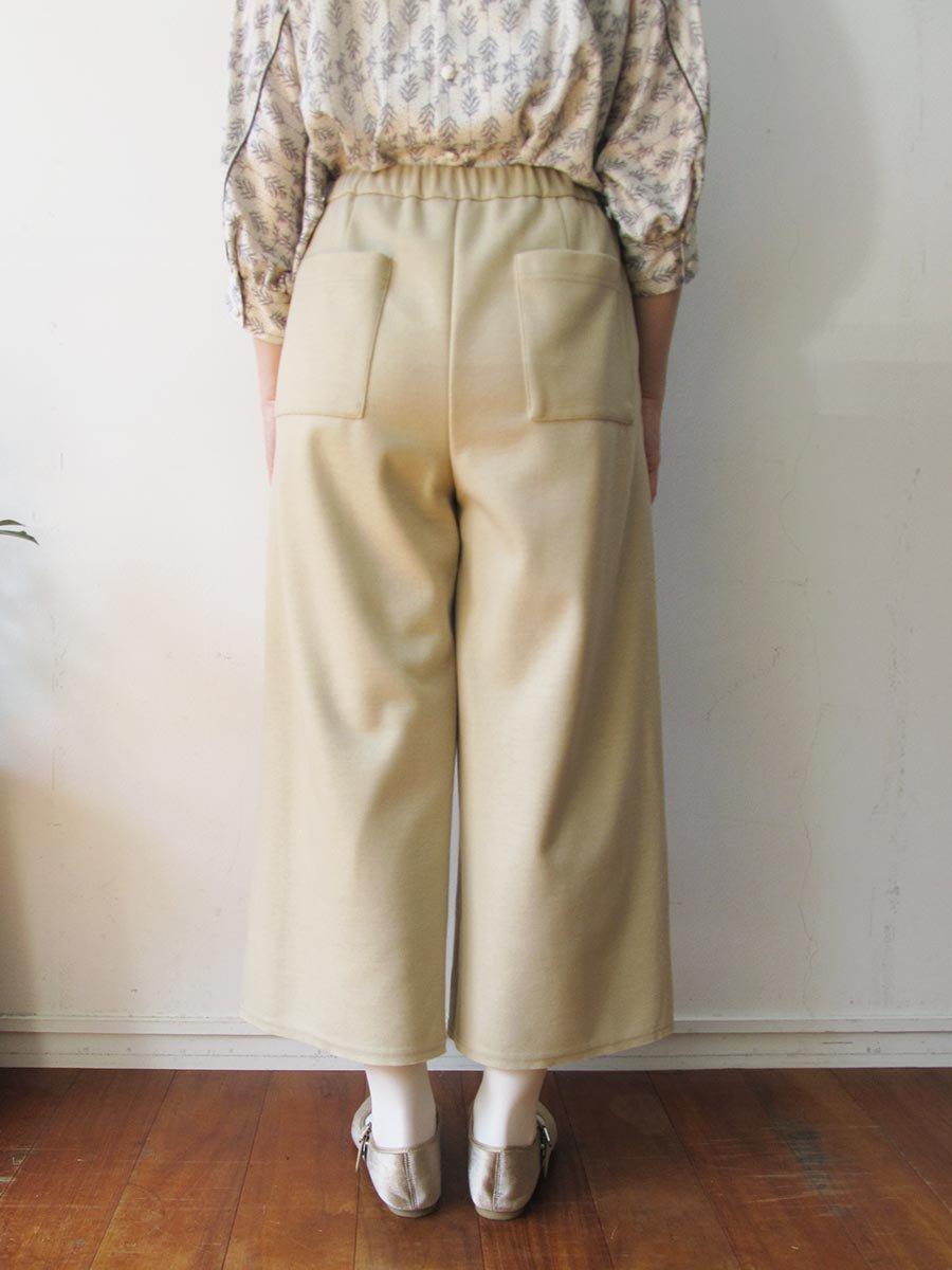 ボールチェーン刺繍ポケットパンツ(2020-21 Autumn Collection) 6