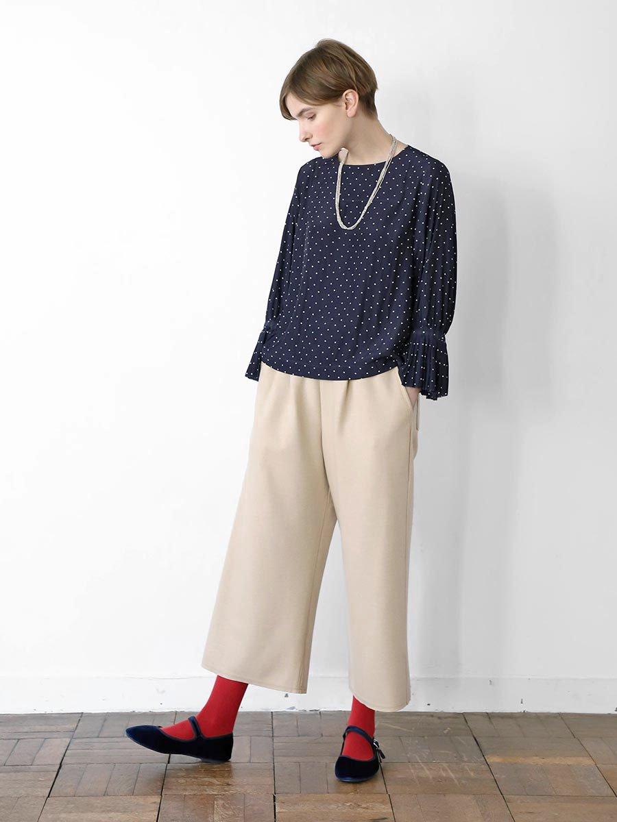ボールチェーン刺繍ポケットパンツ(2020-21 Autumn Collection) 8