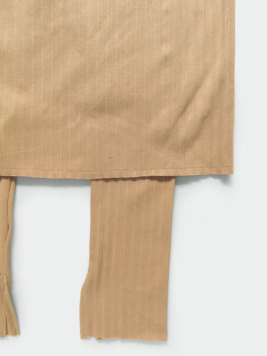 リブプリーツスカートセット(オークル) 6