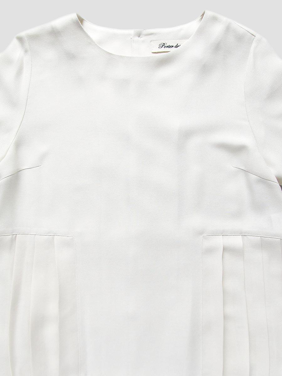 ヘムプリーツブラウス(2020-21 Winter & 2021 Pre-Spring Collection) 13