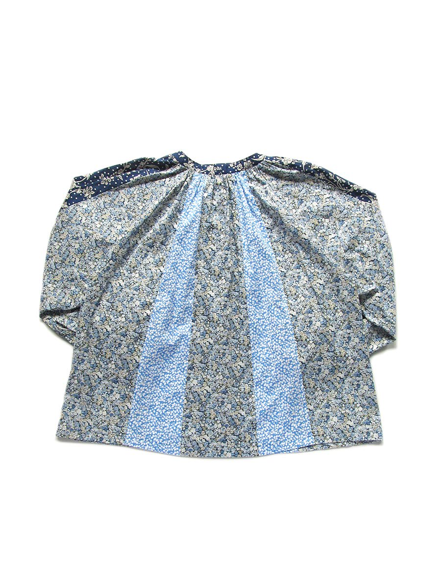 LIBERTY PRINTコンビネーションブラウス(2021 Pre-Spring Collection) 12