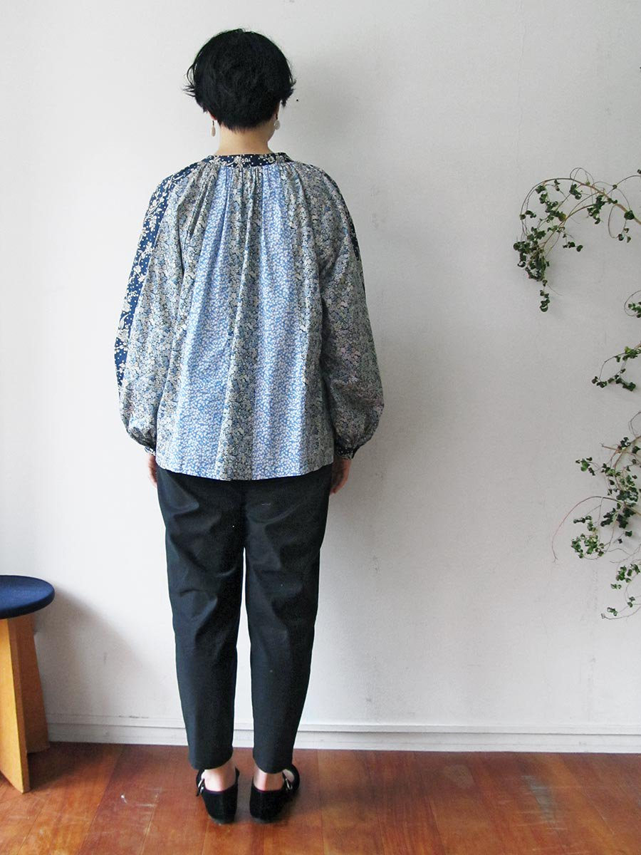 LIBERTY PRINTコンビネーションブラウス(2021 Pre-Spring Collection) 20