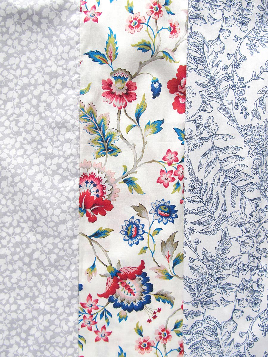 LIBERTY PRINTコンビネーションブラウス(2021 Pre-Spring Collection) 7