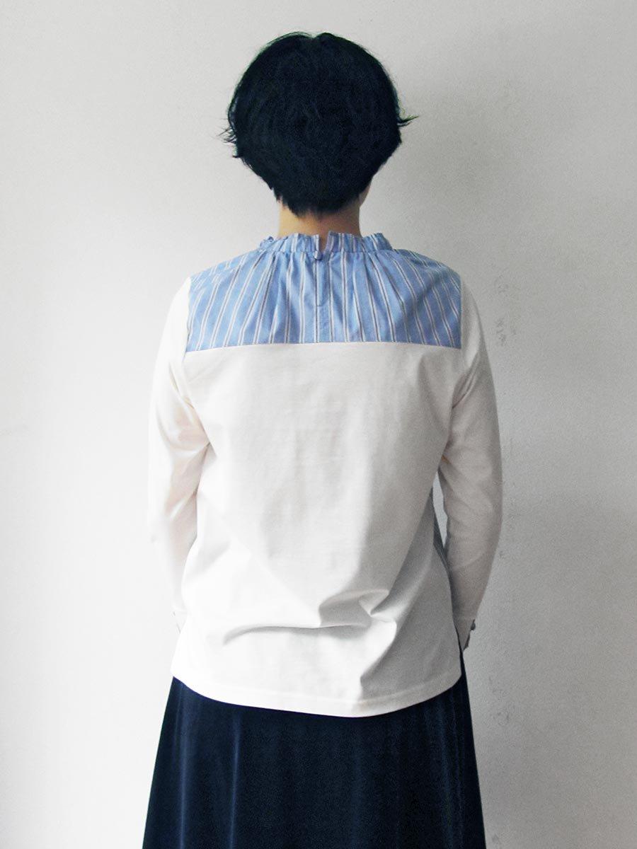 ギャザーネックプルオーバー(2021 Pre-Spring Collection) 5